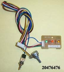 WH Circuit Lamp Board, BS36UFF, OM-148, OM-180 A02-C12